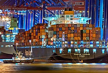 輸入代行コンテナ船