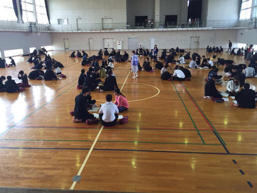 高校生の心に火を灯すキャリア学習プログラム『カタリ場』