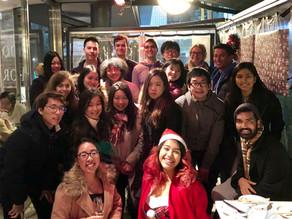 Kokusaba Hosts Christmas Dinner to Celebrate Tutors