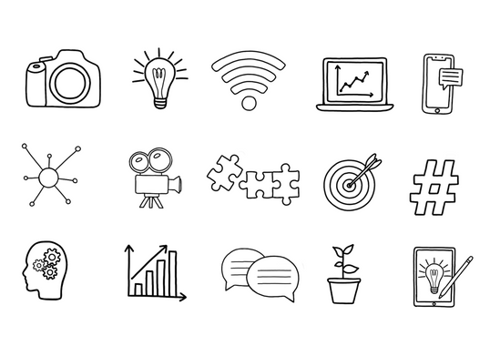 Mogfish Marketing Icons