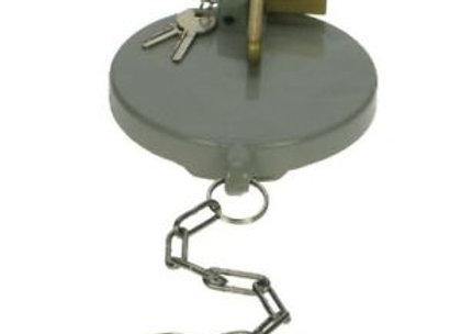 "Single Arm Fill Point Cap - 4"" - Powder Coated & Keys Diff"