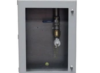 Fill Point Cabinet - Single Fill - With Window - Right Sid