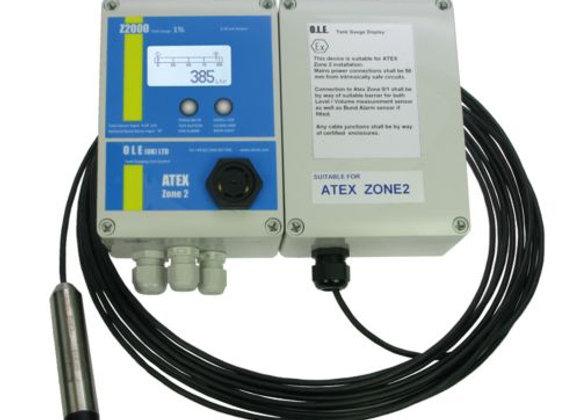 O.L.E Z2000 Tank Gauge - ATEX Certified +/-1%