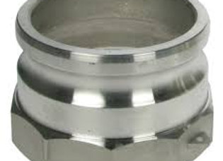 """Fill Point Coupling - Cam Type - 4"""" Cam X 4"""" Female Parallel"""