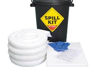 80 Litre Bin Spill Kit - Double Weight Pads