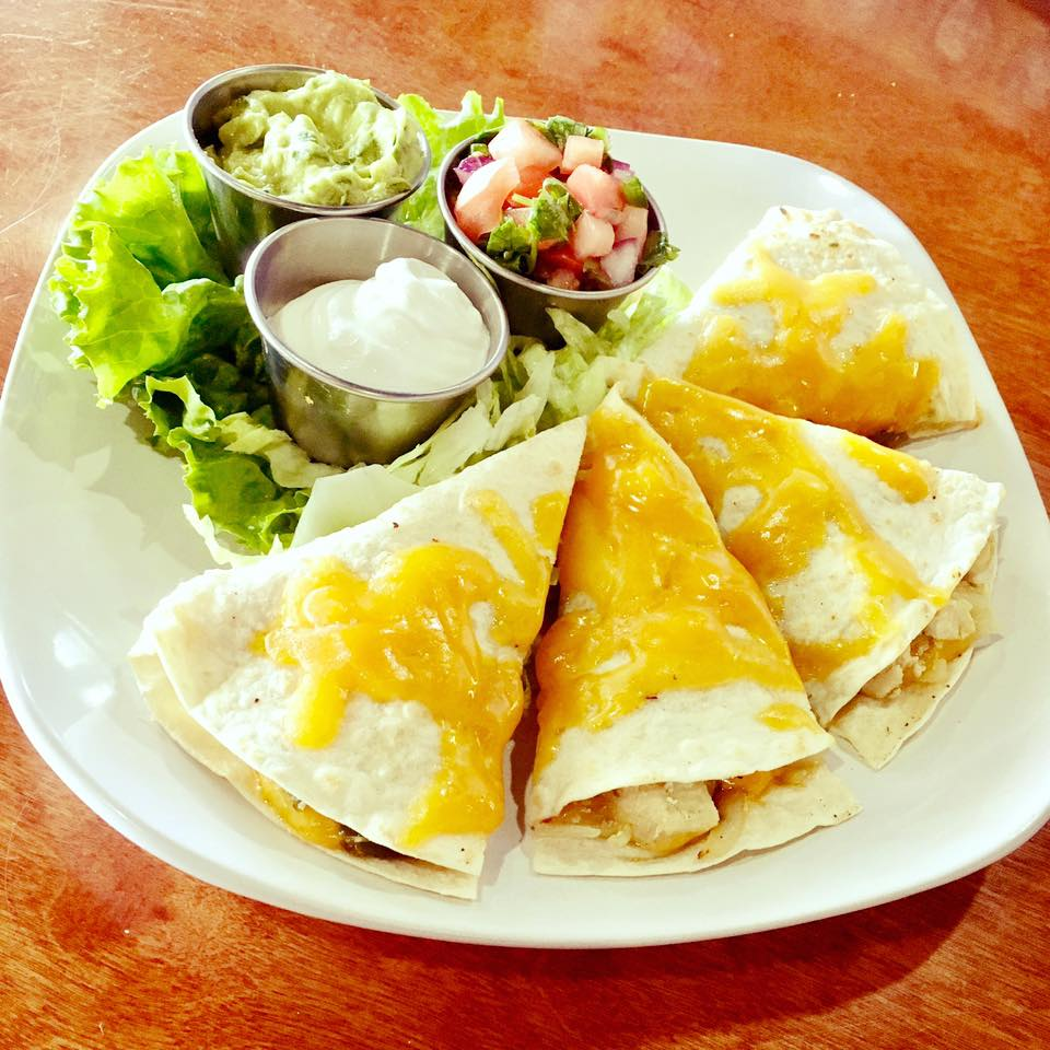 CHICKEN DILLAS
