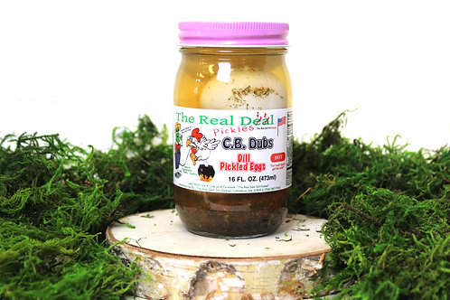 Dill Pickled Eggs *Hot*