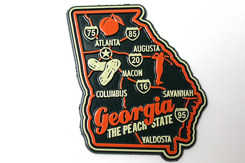 Georgia Collector's Magnet