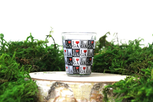 Georgia Checkerboard Shot Glass