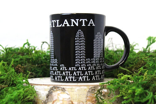 Atl Black Mug