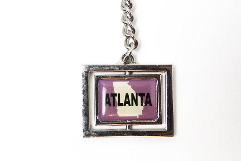 Atlanta Frame Keychain