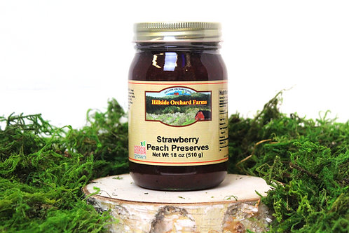 Strawberry Peach Preserves