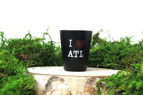 I Heart ATL Ceramic Shot Glass