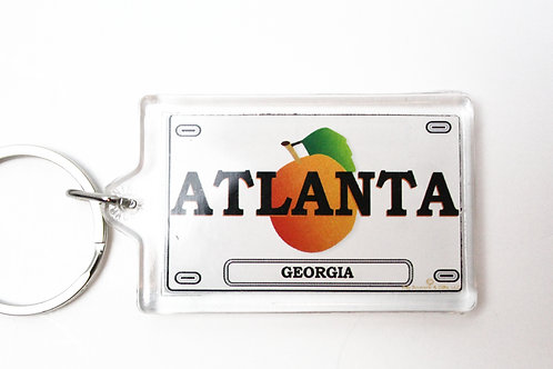 Atlanta License Tag Keychain