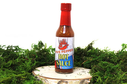 Five Pepper Hot Sauce