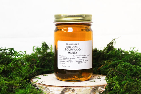 Tennessee Mountain Sourwood Honey