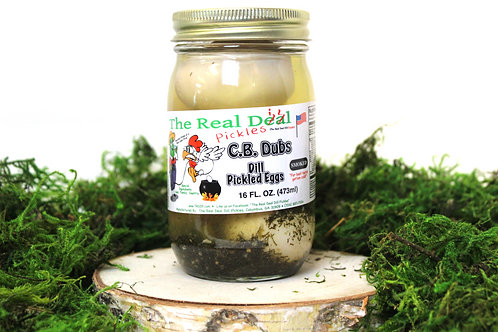Dill Pickled Eggs *Smoked*