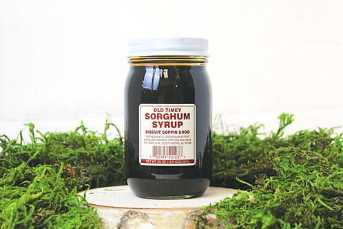 Old Timey Sorghum Syrup