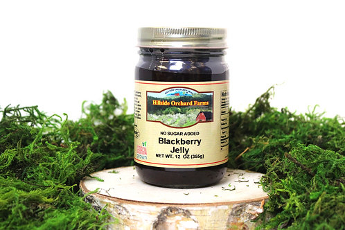 Blackberry Jelly No Sugar Added