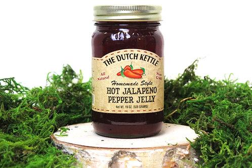 Dutch Kettle Hot Jalapeño Pepper Jelly