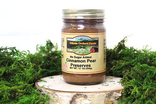 Cinnamon Pear Preserves No Sugar Added
