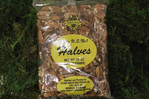8 oz. Pecan Halves