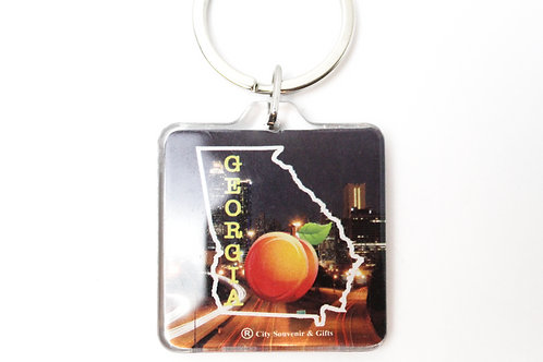 State in the City Keychain