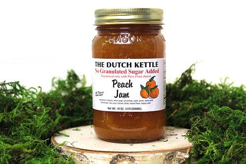 Dutch Kettle Peach Jam