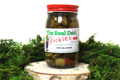 The Real Dill Pickles *Hot*