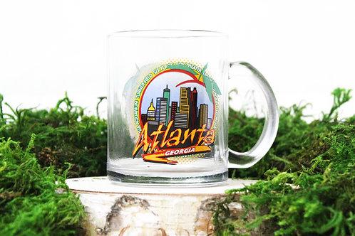 City in a Peach Mug