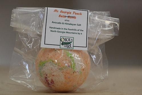 Ms. Georgia Peach Bath Bomb