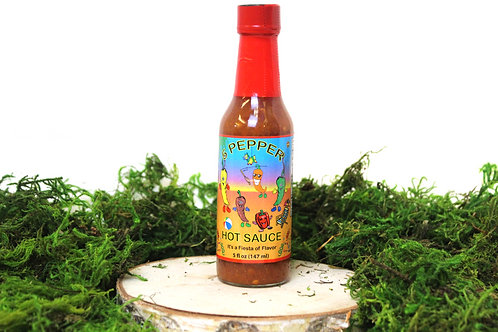5 Pepper Hot Sauce