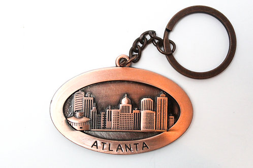 Atlanta Steel Key Chain