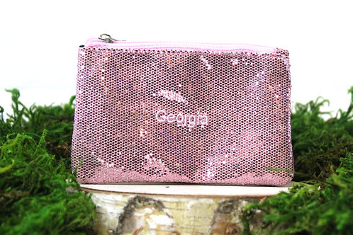 Sequined Purse Pouch