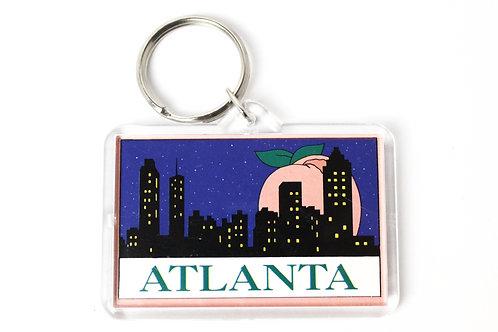 Atlanta City Line Key Chain
