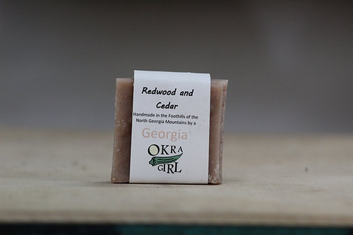 Redwood and Cedar Bar Soap