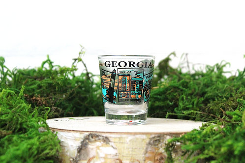 Georgia Landmark Shot Glass