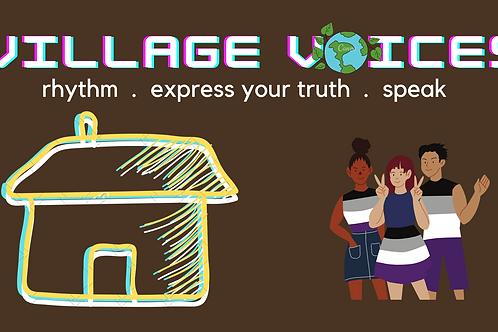 Village Voices - 4 Week Journey