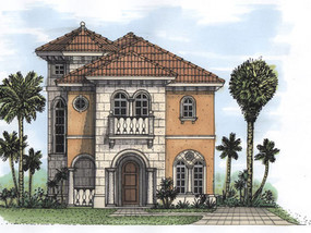Mediterra 1949 SqFt  3 Bedroom / 4 Bath 5001