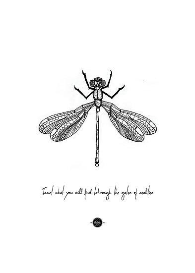 ECO Artprints -Libelle