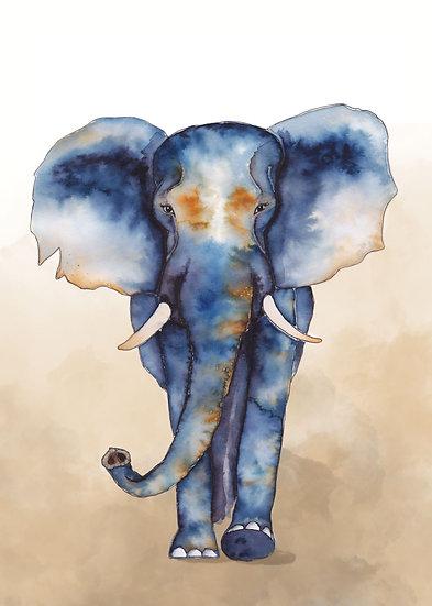 ECO Artprints - Elephant
