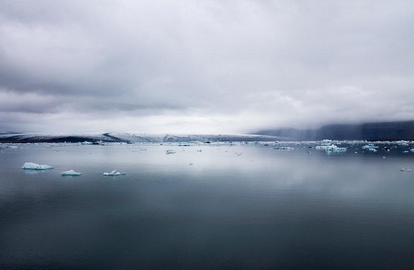 Iceland - Gletcher view