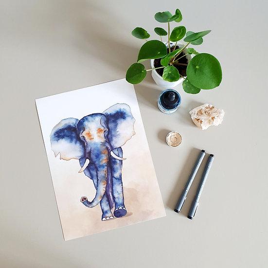 ECO Artprint - Elephant