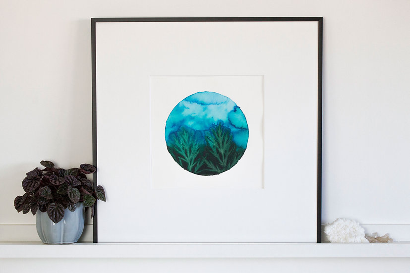 #18 Dephts of the ocean - circle