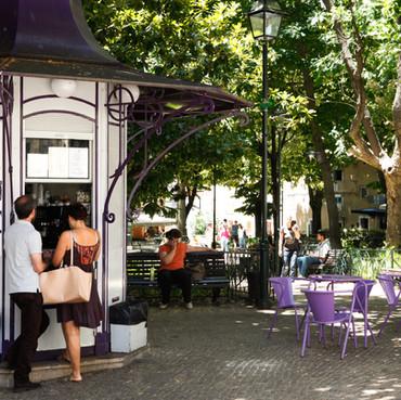 """Our square """"Praça das Flores"""""""