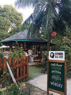 バー タオ島グルメ レストラン バンズダイビングコタオ
