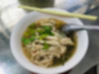 ヌードルスープ タオ島グルメ レストラン バンズダイビングコタオ