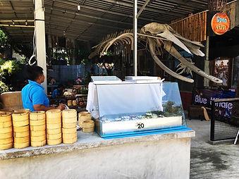 飲茶 点心 タオ島グルメ レストラン バンズダイビングコタオ