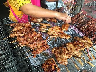 焼き鳥 タオ島グルメ レストラン バンズダイビングコタオ