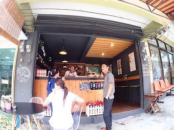 コーヒーショップ タオ島グルメ レストラン バンズダイビングコタオ